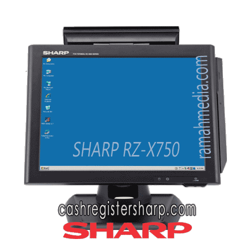 SHARP RZ-X750 best touchscreen