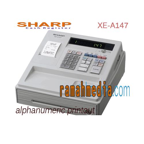 Baru, mesin Kasir Sharp xe-a147